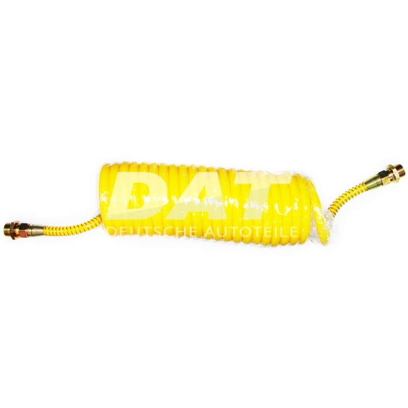 SNAIL PIPE AIR COIL YELLOW